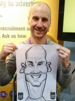 Wedding Caricature Artists North West Warrington